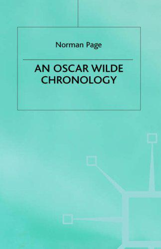 Oscar-Wilde-Chronology-Author-Chronologies-Series-by-Nalbantian-Page-Norman