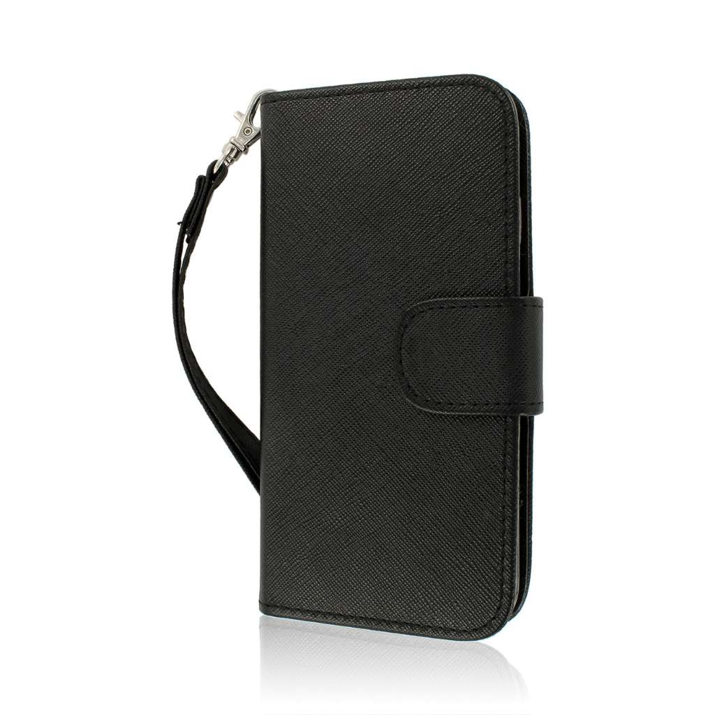 For iPhone 6 / 6S PU Leather Credit ID Card Flip Wallet