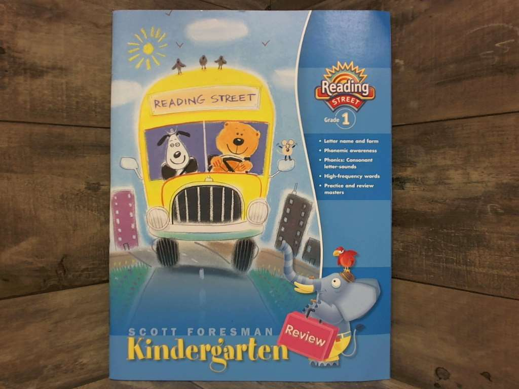 Image is loading Scott-Foresman-Reading-Street-Kindergarten-Review-Grade-1-