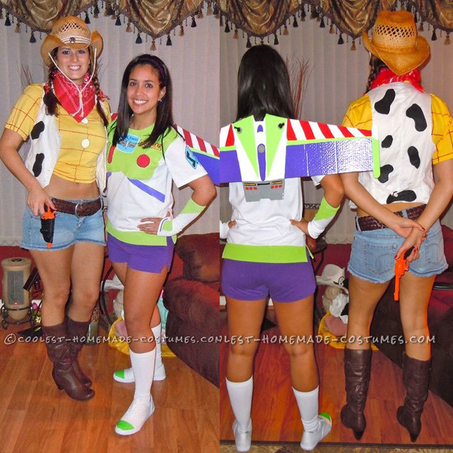 Woody and Buzz from 'Toy Story' Costumes