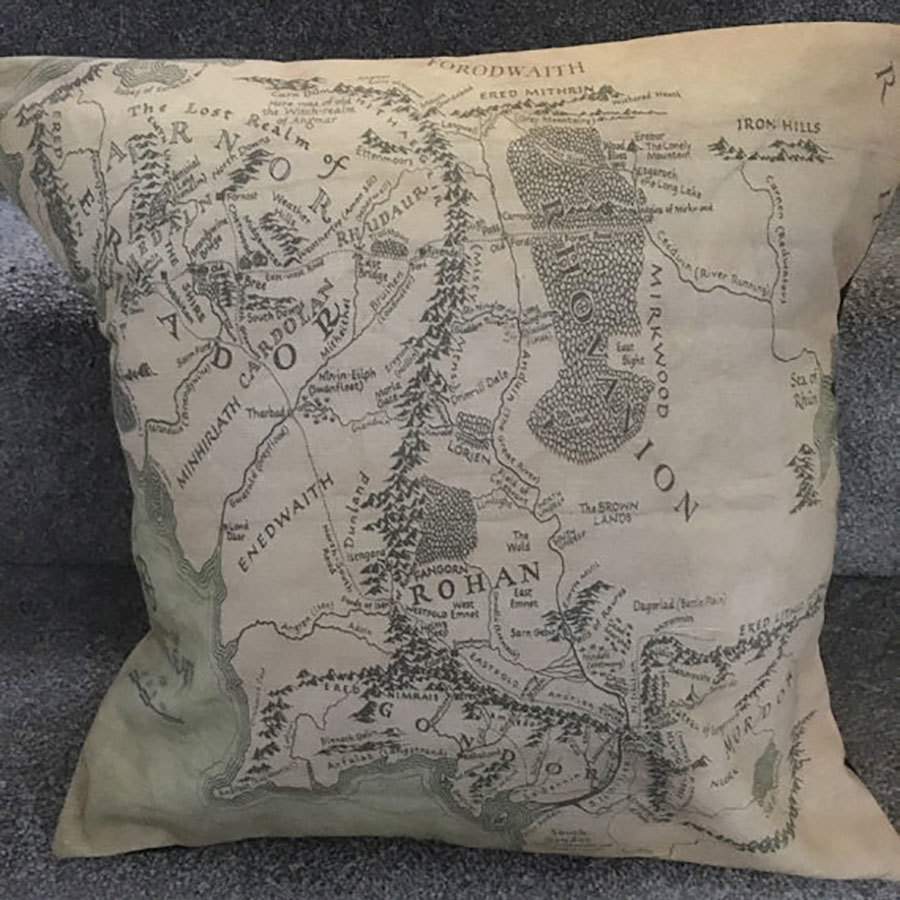 Lord of the Rings Pillow