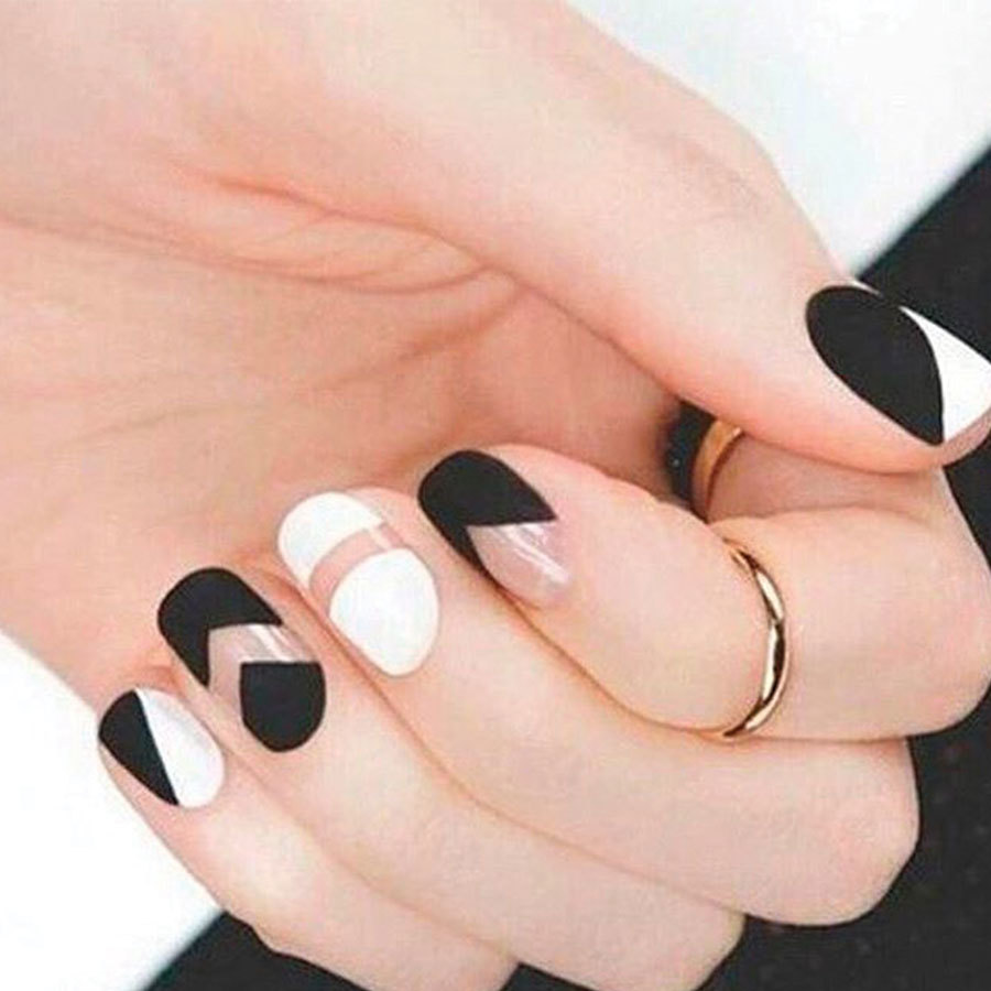 The Best of the Best in Negative Space Nail Art - More