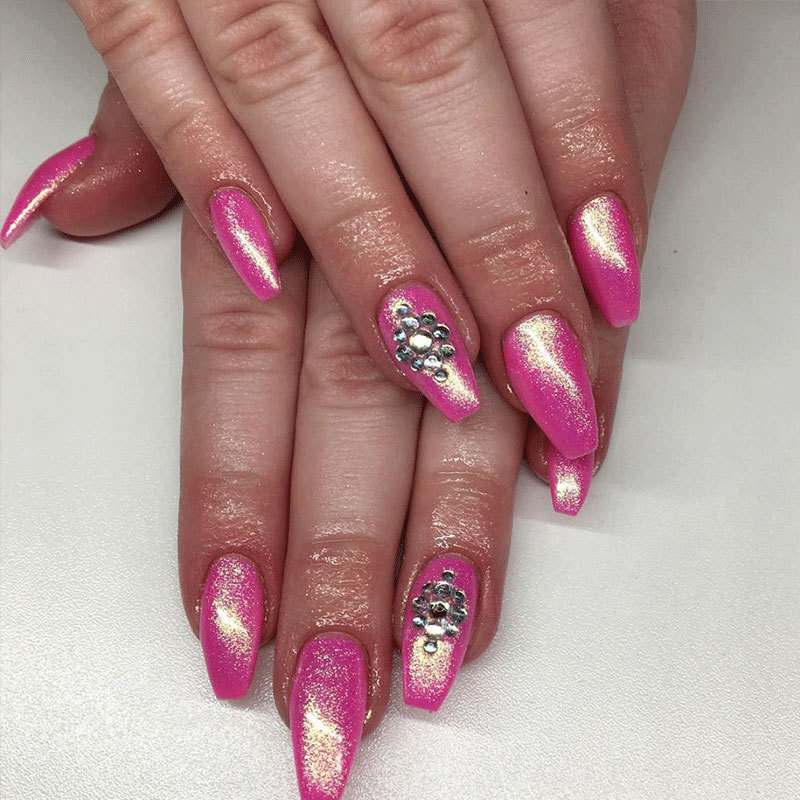 These Sparkly Nails Are Glitter-ally To Die For - More