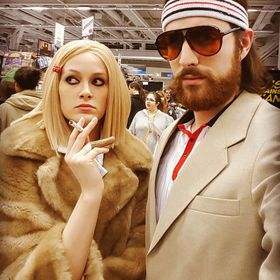 margot and richie wes anderson costumes from royal tenenbaums