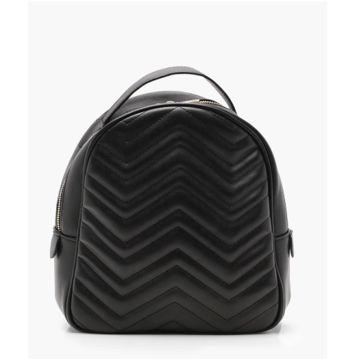 affordable Gucci backpack replica in chevron black