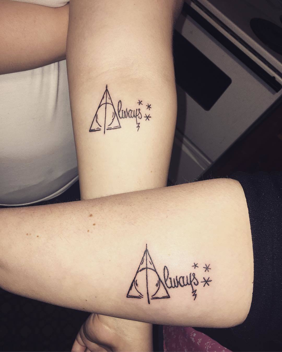 c14d8e8e403e7 Especially when you're channeling his magic into awesome matching family  tattoos. Thanks for reminding us Emma Meeks!