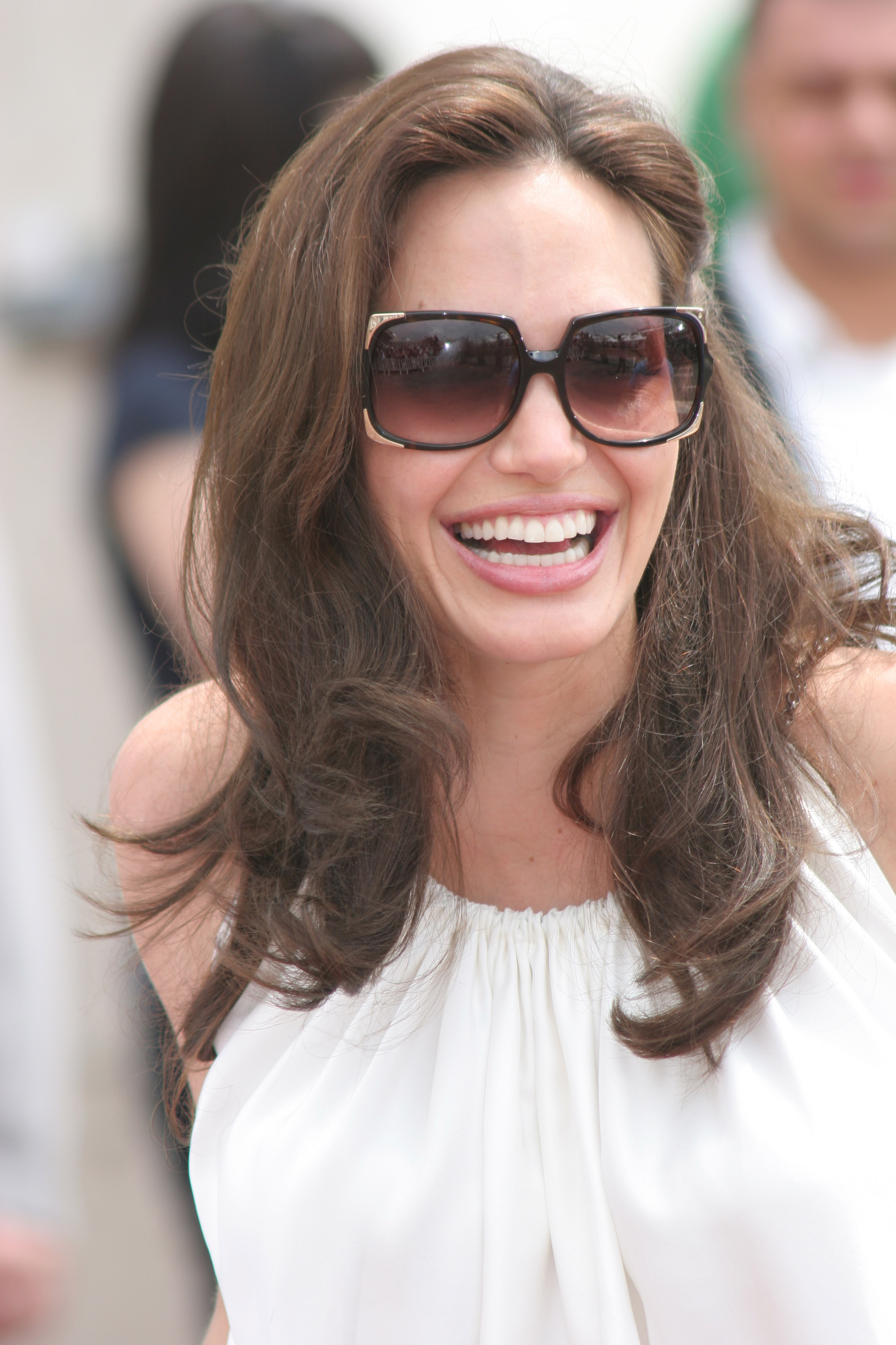 angelina jolie at the 61st cannes international film festival
