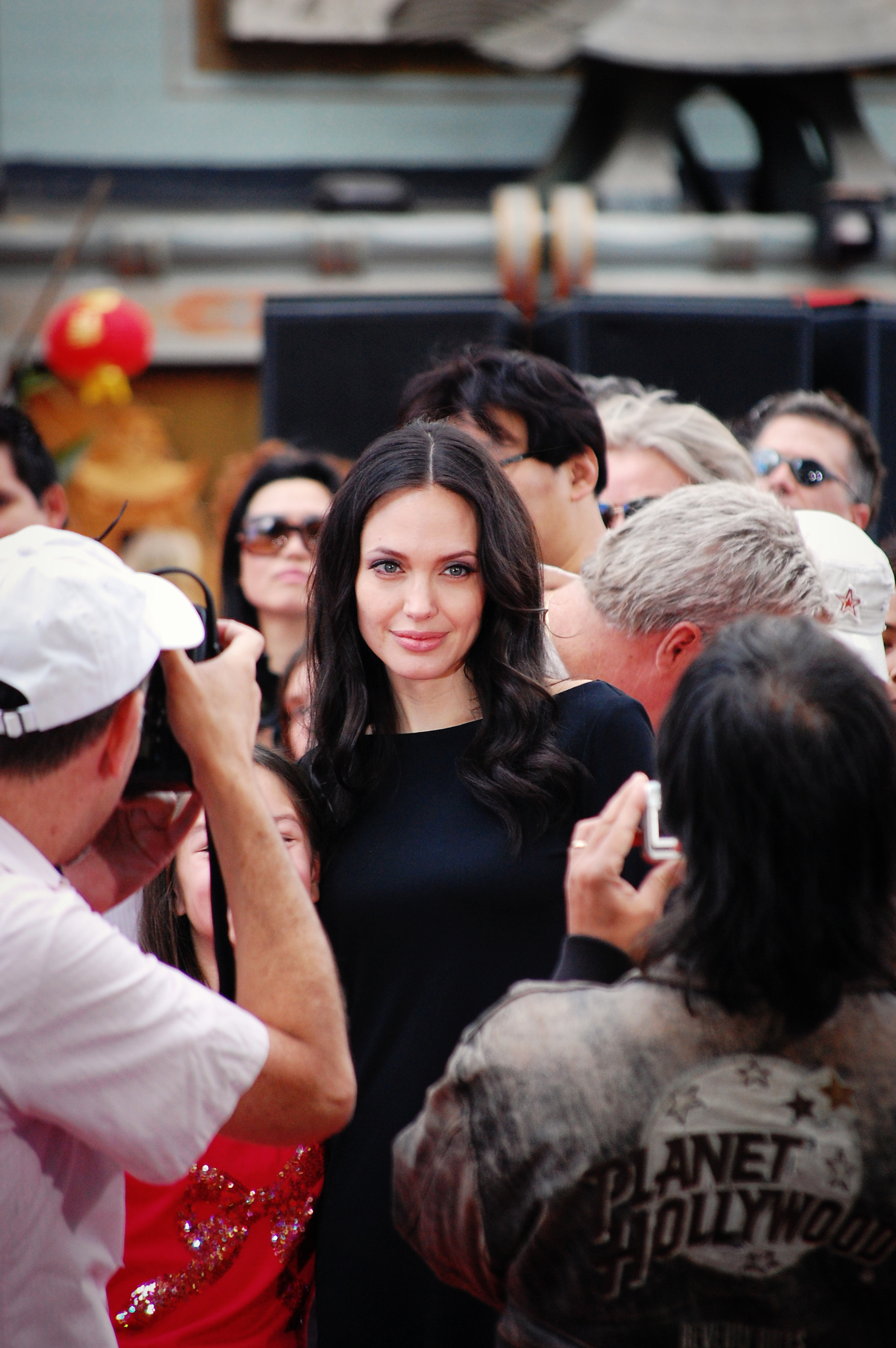 angelina jolie kung fu panda dvd release party