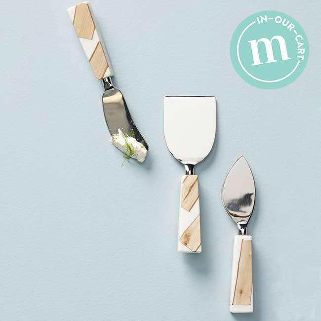 Nordstrom x Anthropologie: Catbird Set of 3 Cheese Knives