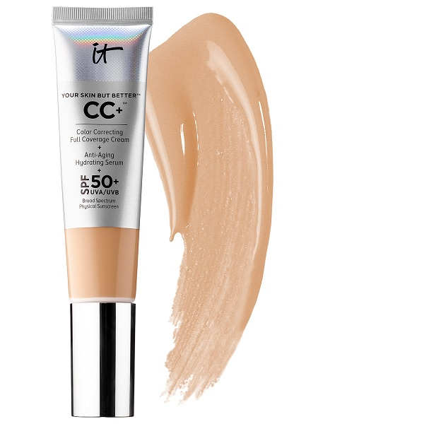 best foundation for sensitive skin by IT cosmetics CC cream