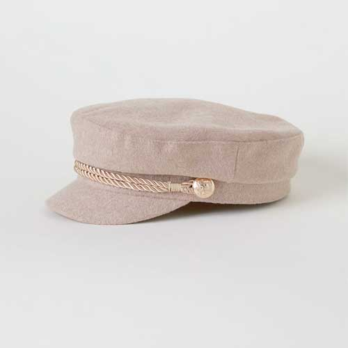 For the Resident Cool Girl: H&M Captain's Cap