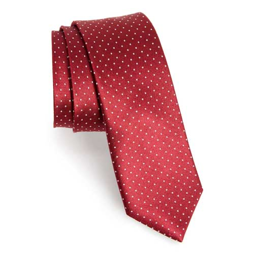 For Dad: The Tie Bar Dot Silk Tie