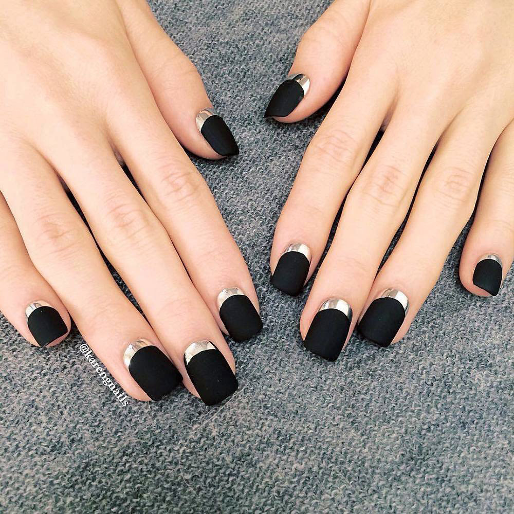 Amazing Matte and Chrome Nail Art Looks You Have to Try Right NOW - More