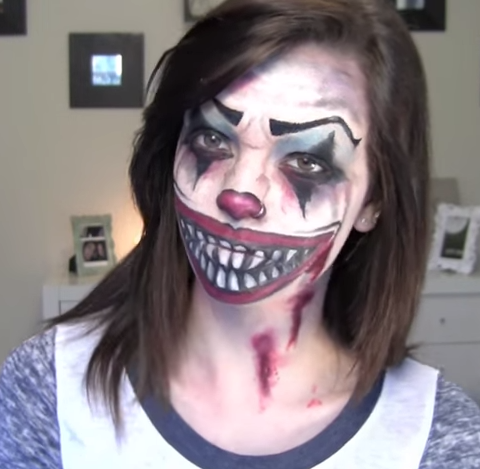 Halloween Looks Scary.13 Scary Halloween Makeup Looks That Give Us Nightmares More