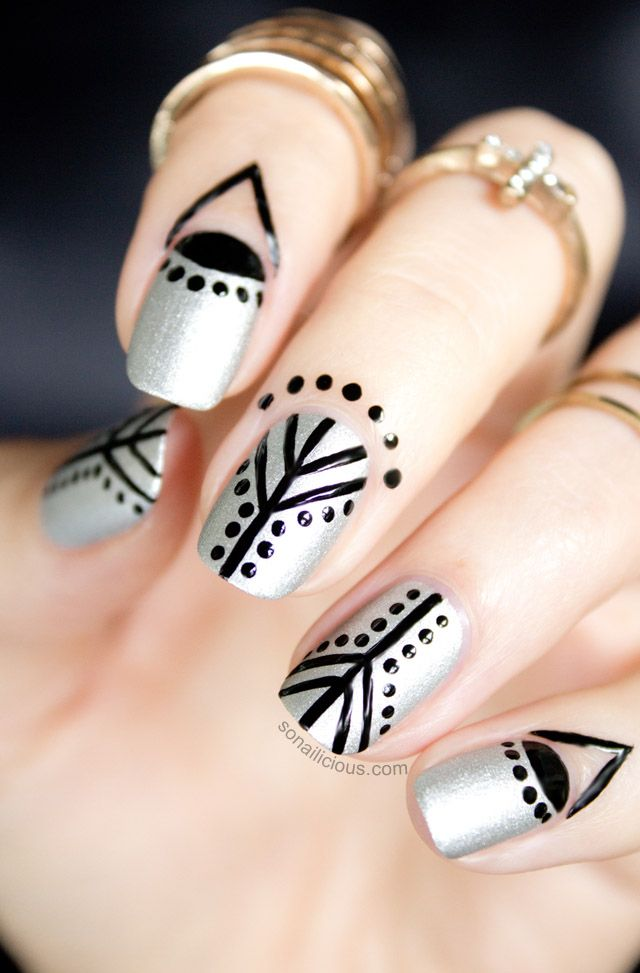 17 Simple Nail Designs Even a Nail Newbie Can Do - More