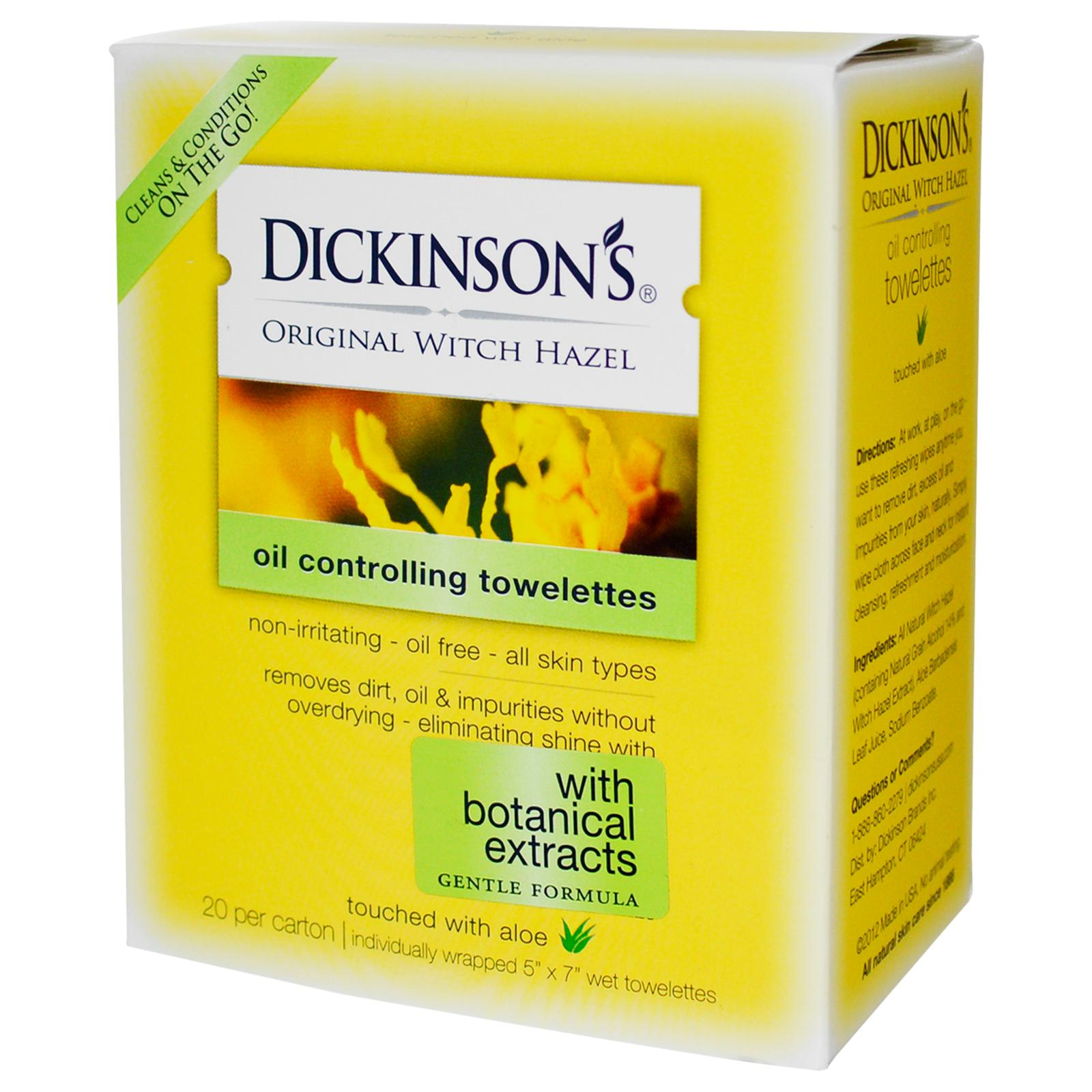 Dickinson's On-The-Go Towelettes
