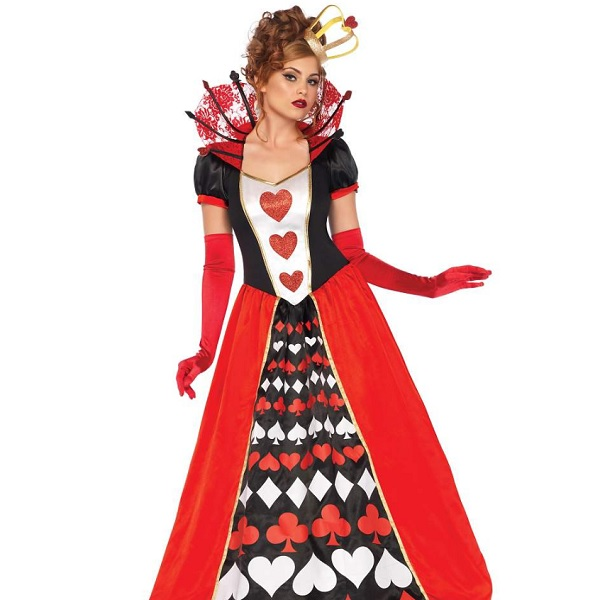 The Queen of Hearts from 'Alice in Wonderland' Costume