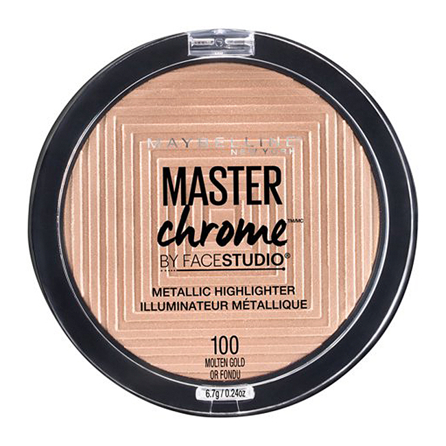 Maybelline Chrome Metallic Highlighter