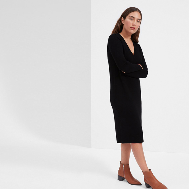 Everlane Cashmere Midi Dress