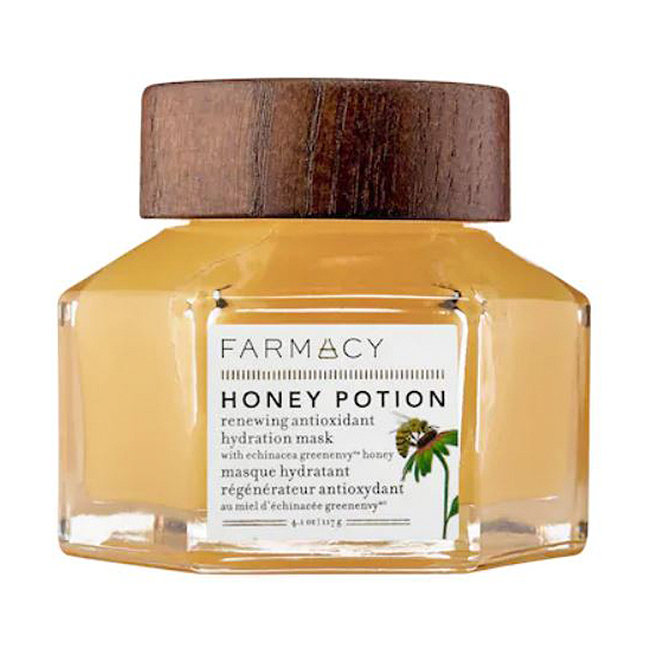 Best Face Mask For Brightening: Honey Potion Renewing Antioxidant Hydration Mask