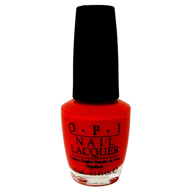 Best Fall Nail Colors: Orange-Red