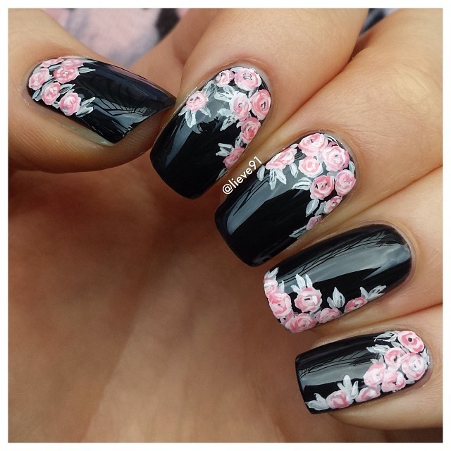 22 Bold Black Nail Designs , More