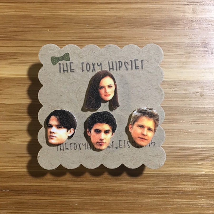 Rory, Dean, Jess, and Logan Earrings