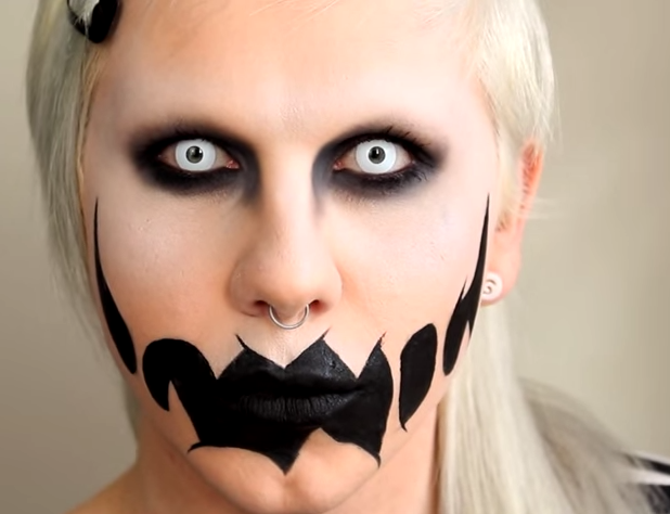 Easy Halloween Makeup Scary.13 Scary Halloween Makeup Looks That Give Us Nightmares More