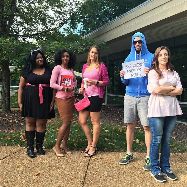 mean girls group halloween costume