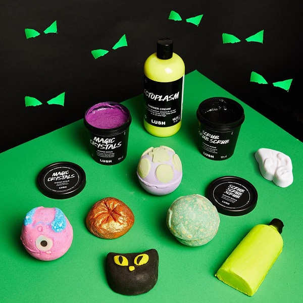 Lush Halloween Bath Bombs