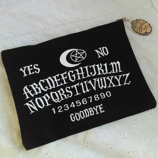Ouija Board Makeup Bag