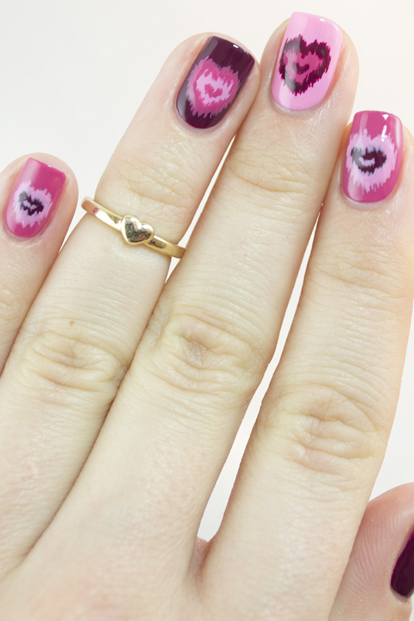 Nail Art Designs Pink And Purple