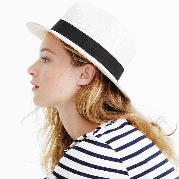 white panama sun hats for women