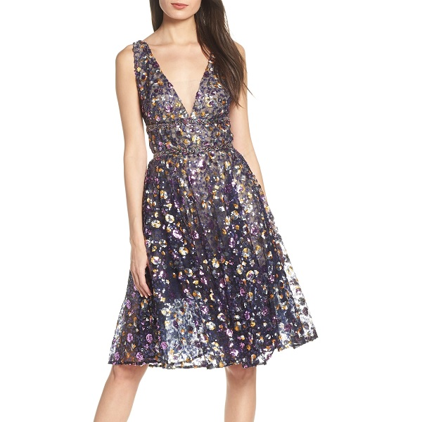 short sequin nordstrom prom dress from bronx and banco