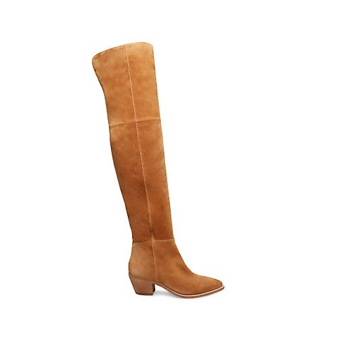 brown steve madden suede over the knee boots