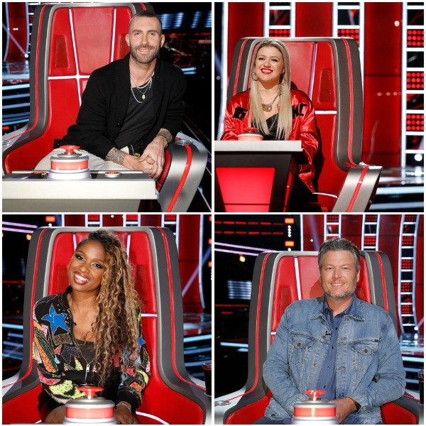 the voice judges for a group halloween costume