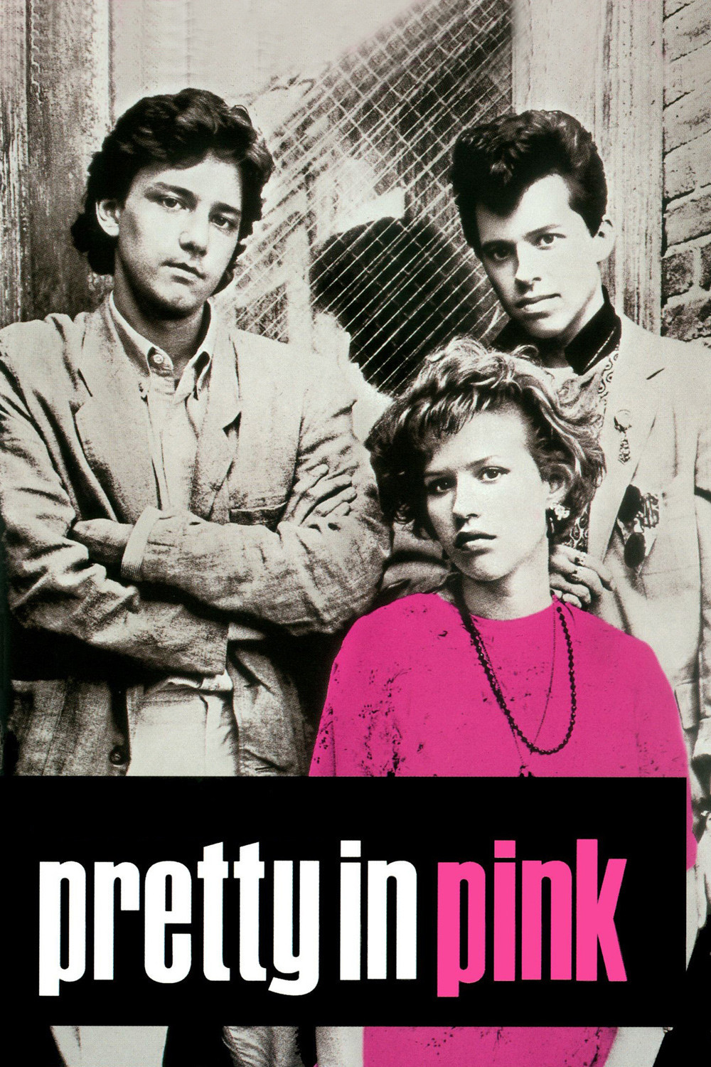 Pretty in Pink: Andie Walsh, Blane McDonough, and Duckie (Phil Dale)