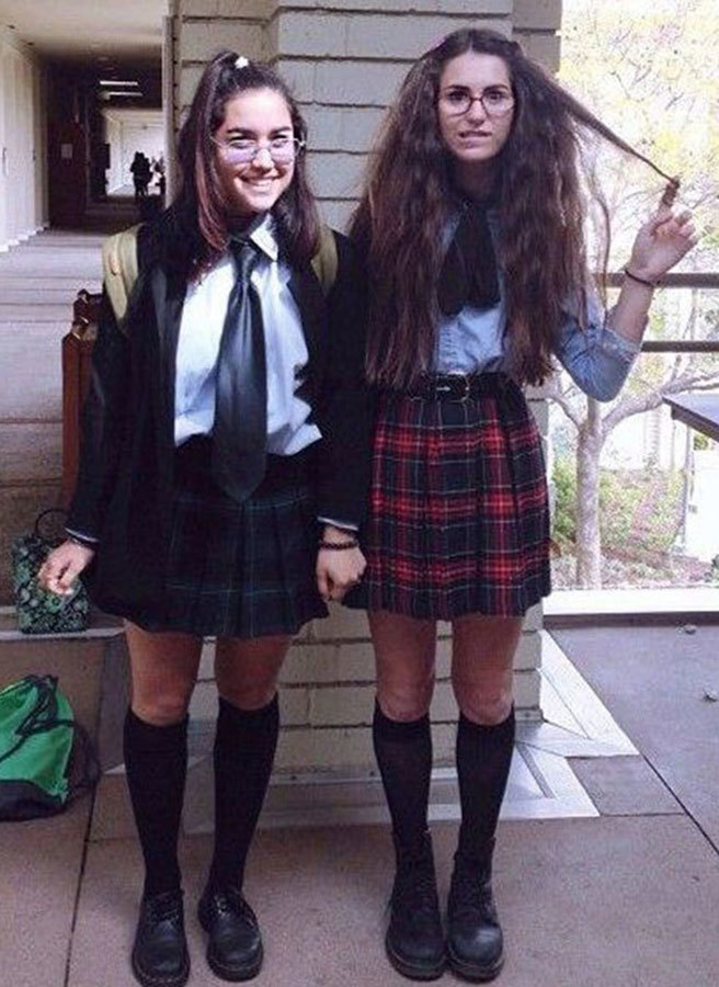 Mia Thermopolis and Lilly Moscovitz from 'The Princess Diaries' Costumes