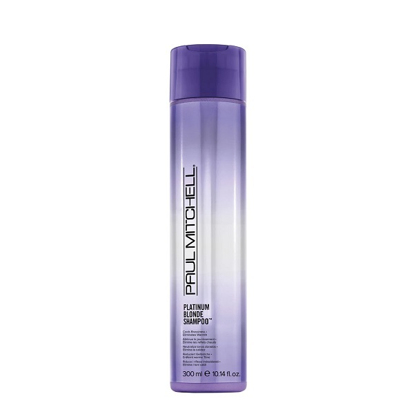 Purple Shampoo For Platinum Blondes