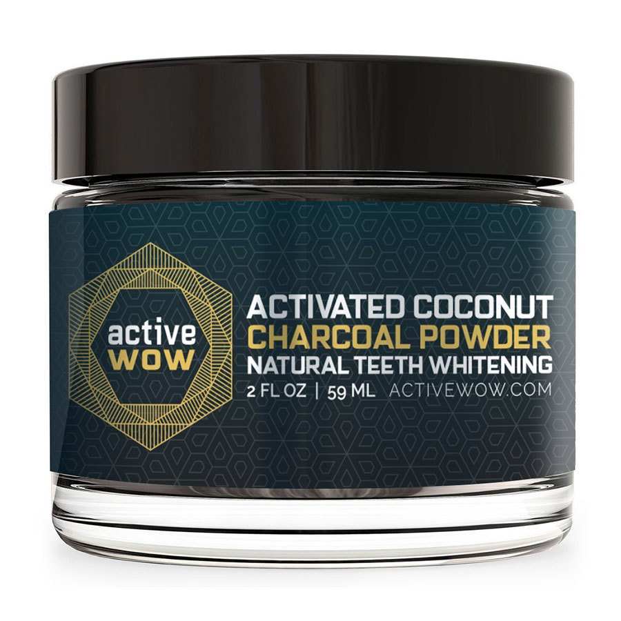 1. Active Wow Teeth Whitening Charcoal Powder