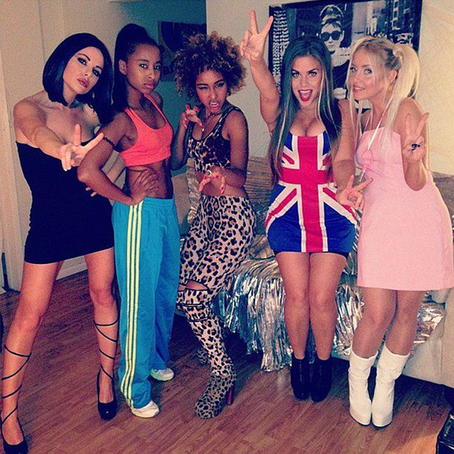 girl group halloween costume the spice girls