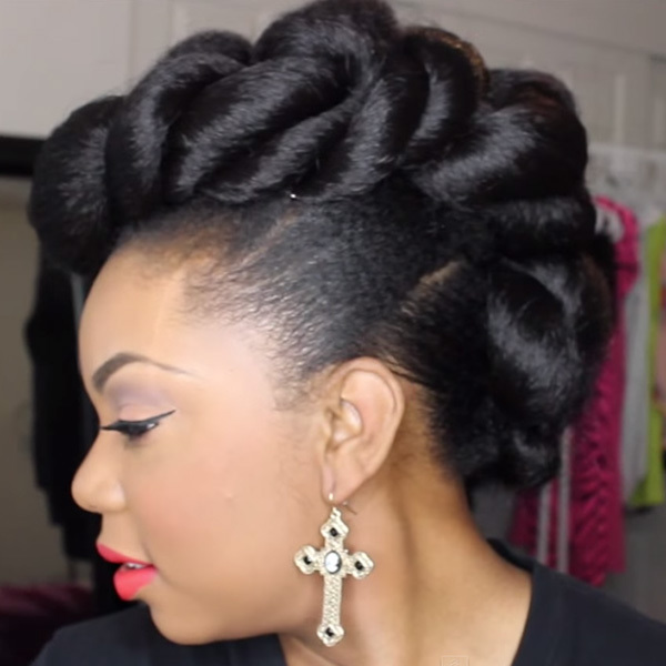 Stunning Wedding Hairstyles for Black Women - More