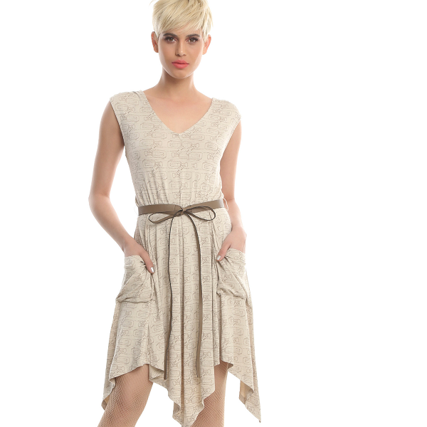 You'll be able to escape from First Order troops in this super-comfy Rey dress with massive, slouchy pockets.