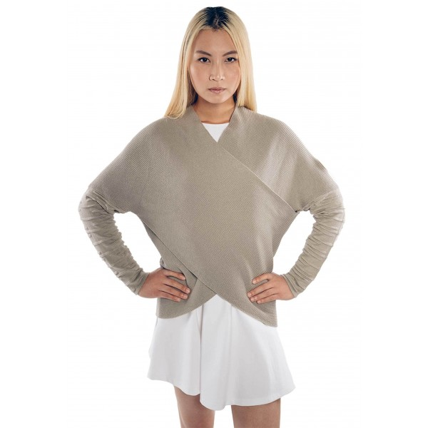 You may not be able to withstand Hoth weather in it, but this Rey knitted sweater is still warm and chic.