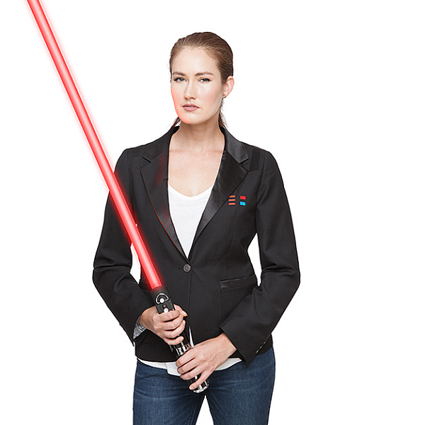 Show your colleagues who's boss in this subtle Darth Vader blazer.