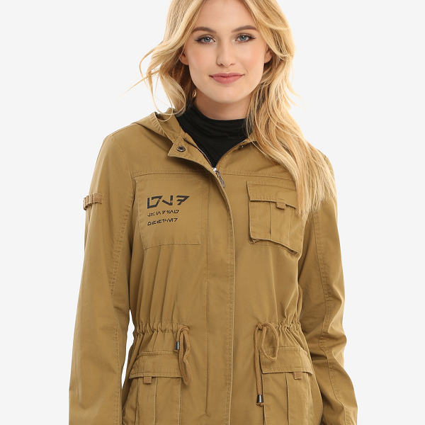 "No ""The Last Jedi"" spoilers (promise!), but soon you'll be wanting to represent maintenance worker Rose Tico with this utility jacket."