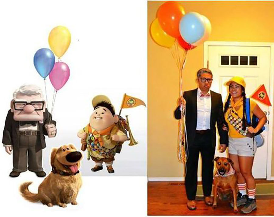 Characters from 'Up' Costumes