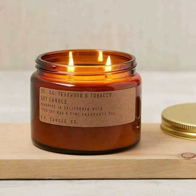 P.F. Candle Co. Double Wick Jar Candle