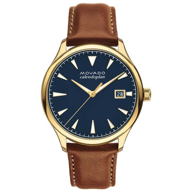 Movado Heritage Series Calendoplan Watch