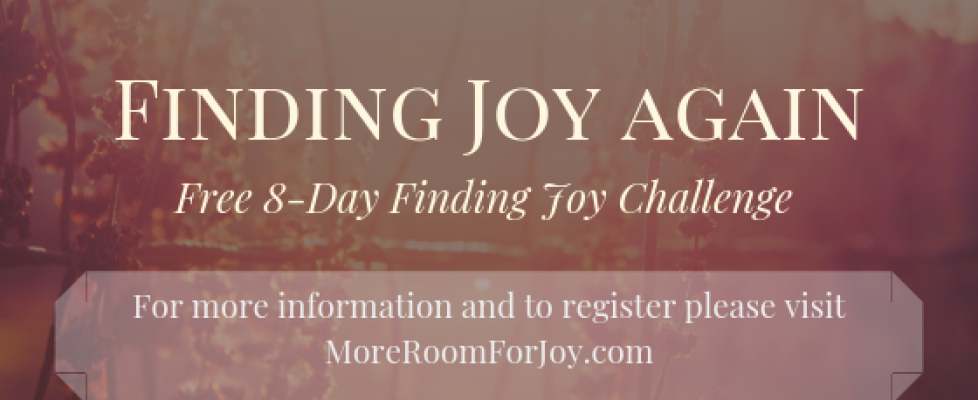 Finding Joy again